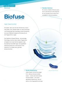 Die Speedo Biofuse Technologie